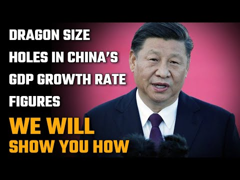 China's 3.2% GDP growth rate is a big fat lie. And we will prove it