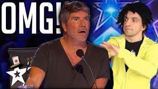 Video NEVER SEEN BEFORE! SHOCKING MAGIC TRICKS at Britain's Got Talent  - America's Got Talent (parody) MP3, 3GP, MP4, WEBM, AVI, FLV Agustus 2019