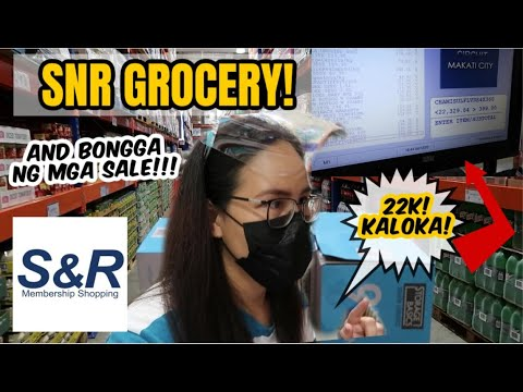 SNR GROCERY ANG DAMI SALE AT GIFT IDEAS! - Vlogmas Day 6 #McForestFam