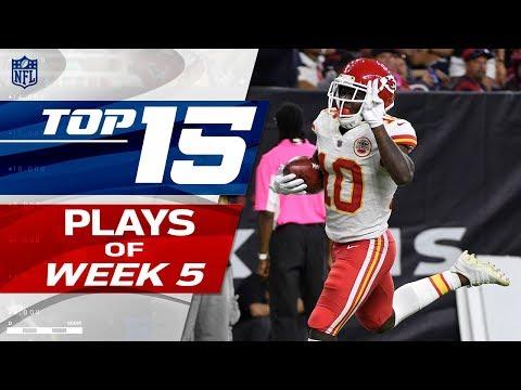 Top 15 Plays of Week 5 | NFL Highlights - Thời lượng: 5:41.