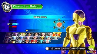 All Playable Characters + DLC a total of 58 Characters and 22 stages in Dragon Ball Xenoverse. ▻SUBSCRIBE:...