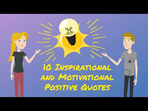 10 Inspirational and Motivational Positive Quotes