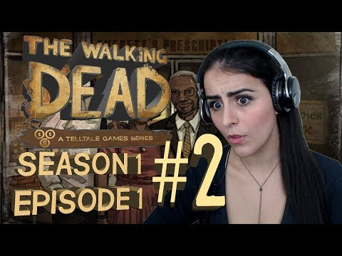 The Walking Dead Episode 1 Part 2 CAN I PUNCH PEOPLE IN THE FACE?