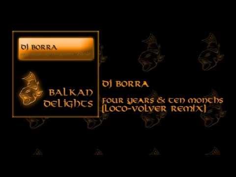 BDL017 DJ Borra - Four Years & Ten Months (Loco-Volver Remix)