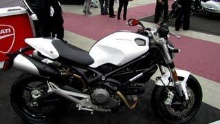 6. 2013 Ducati Monster 696 - Walkaround - 2013 Quebec Motorcycle Show