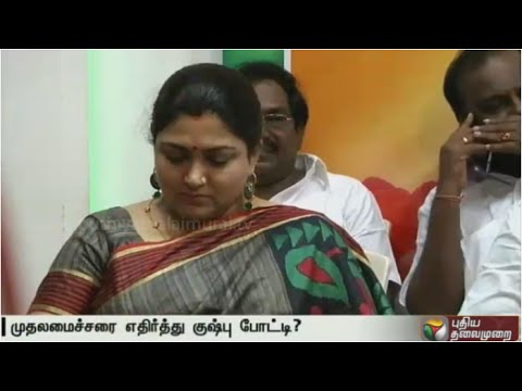 Will-contest-against-Jayalalithaa-in-RK-Nagar-if-party-permits-Kushboo