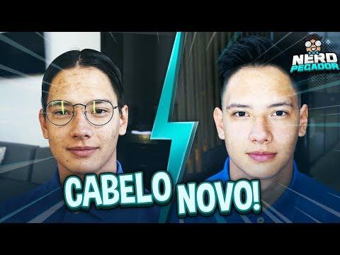 NOVO CORTE DE CABELO DO NERD!! - NERD PEGADOR #5 [ REZENDE EVIL ]