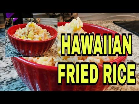 HAWAIIAN FRIED RICE   COOKING WITH  Lhynn Cuisine Eps #2