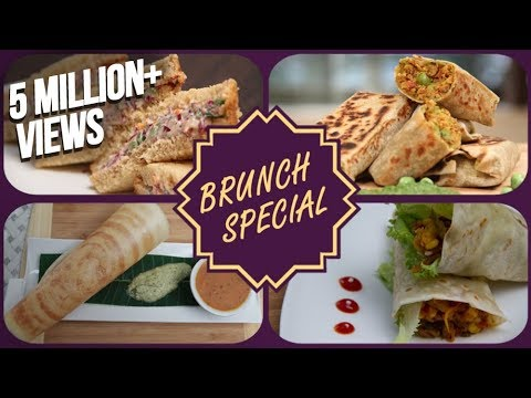 Brunch Special | Easy Breakfast / Snack / Tiffin Recipes | Healthy Meal Recipes