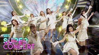 Video IZONE - Intro + Violeta + Up [SBS Super Concert in Gwangju Ep 2] MP3, 3GP, MP4, WEBM, AVI, FLV Juni 2019