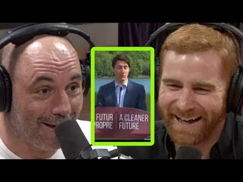 Justin Trudeau39s Press Meltdown Crack Joe Rogan and Andrew Santino Up