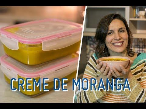 Nutricionista - CREME DE MORANGA: como fazer e armazenar