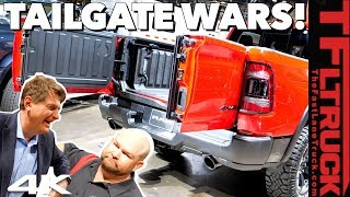 Ram vs GMC vs Ford vs Honda: What's the Best New & Fancy Tailgate? No, You're Wrong! Ep. 3 by The Fast Lane Truck
