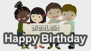 Bienlein - Happy Birthday Kinderlied Geburtstagslied