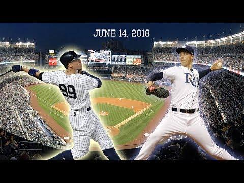 Tampa Bay Rays vs New York Yankees Highlights    June 14, 2018