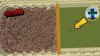 Video 10.000 Aldeanos VS 1 Titan Zombie VS 1 Titan Iron Golem - Minecraft Arena (Villagers/mobs/boss) MP3, 3GP, MP4, WEBM, AVI, FLV Juli 2017