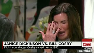 Jill Scott defends Bill Cosby while Janice Dickinson breaks down crying on CNN