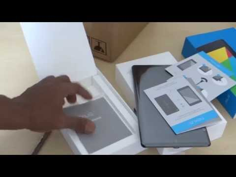 New Nexus 7 Unboxing 32GB + LTE (Google Nexus 7 2013)