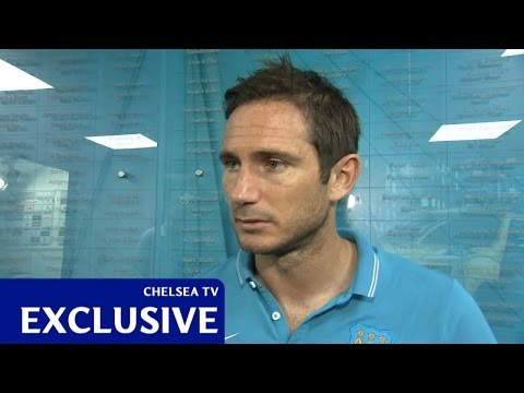 Video: Lampard: Surreal day
