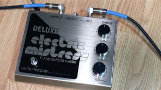 Demo of the Electro-Harmonix Deluxe Electric MistressGuitar: Fender Stratocaster with SSL-5 Bridge Pickup, CS69 Middle, FAT50 NeckAmp: Reeves Custom 100Speaker: 2x12 Loaded with Eminence Swamp Thangs