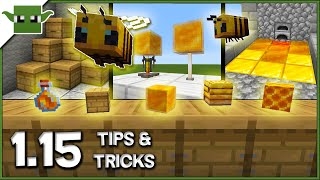 Minecraft 1.15 Bees Update - 20 Build Hacks and Ideas
