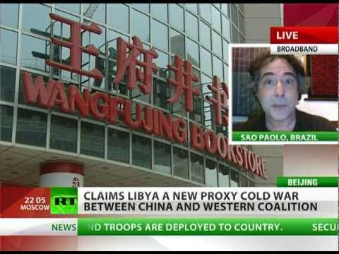 Libya Proxy Cold War between China & West?
