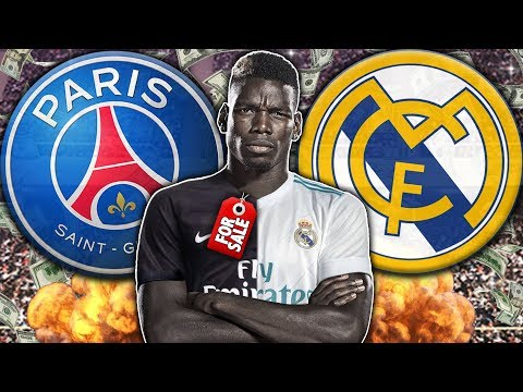 Video: REVEALED: Manchester United Plan To Sell Paul Pogba To Real Madrid or PSG?! | Transfer Talk