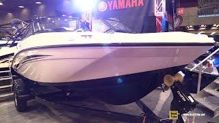 6. 2017 Yamaha SX 190 Motor Boat - Walkaround - 2017 Montreal Boat Show