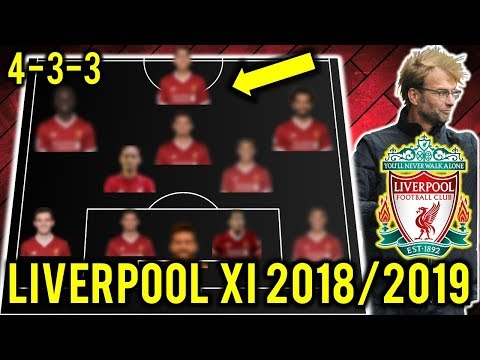 Liverpool Possible Line Up XI 2018/2019 Ft Shaqiri, Alisson Becker, Keita