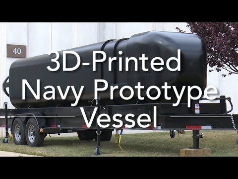 Navy partnership develops first 3D printed submersible