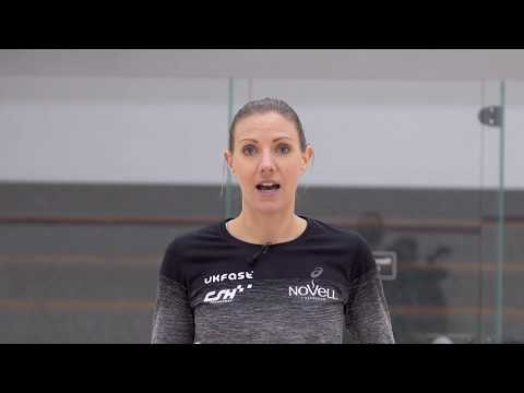 Squash tips: Attacking from the deep backhand with Laura Massaro - The two wall boast