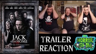 """""""Jack Goes Home"""" Horror Movie Trailer Reaction - The Horror Show"""