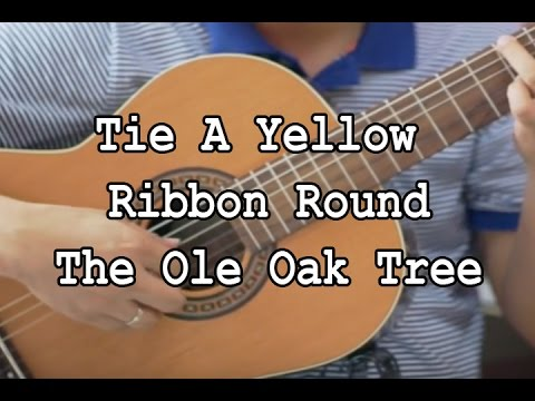 Tie A Yellow Ribbon Round The Ole Oak Tree - Tony Orlando and Dawn (solo guitar cover)