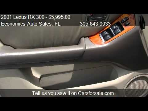 2001 Lexus RX 300 2WD – for sale in Miami, FL 33125