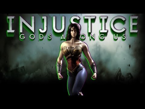 INJUSTICE: GODS AMONG US - BATMAN Vs WONDER WOMAN *ROUND 2* [DEMO] HD
