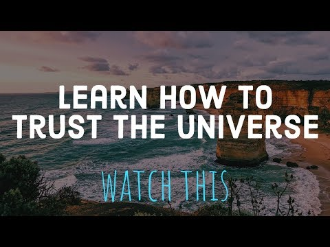 Alan Watts: Trust the Universe As If It Was Yourself