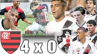 Flamengo 4 x 0 Vasco * Brasileiro 2000 * Gols e Melhores Momentos