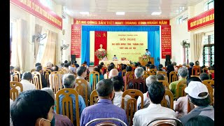 Đại biểu HĐND thành phố tiếp xúc cử tri phường Thanh Sơn