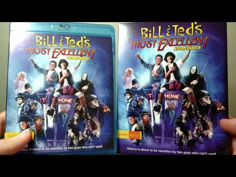 Bill & Ted's Most Excellent Collection Blu-ray Unboxing