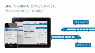 Video Youtube de SNCF TER Mobile