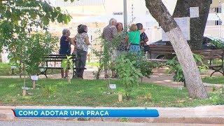 Sorocaba: morador dá exemplo e adota praça