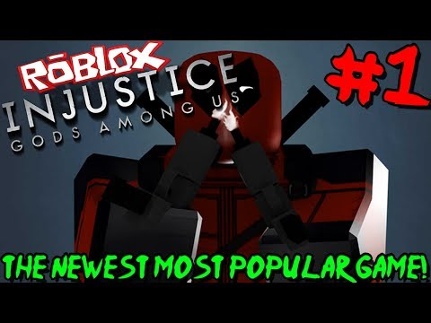 THE NEWEST MOST POPULAR GAME ON ROBLOX! | Roblox: Injustice Online Adventure - Episode 1 (видео)
