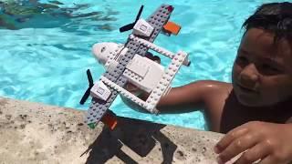 Video Will my Lego City Sea Rescue Plane float? Box #60164 download in MP3, 3GP, MP4, WEBM, AVI, FLV January 2017