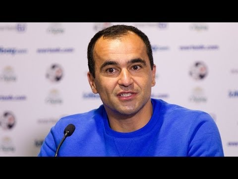 Video: Roberto Martinez pre-Arsenal press conference