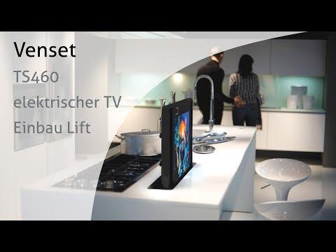 Venset TS460 elektrischer TV Einbau Lift - Fernsehlift in Möbeln