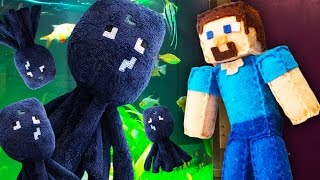 MINECRAFT PLUSHY ADVENTURE - Learning to Swim!