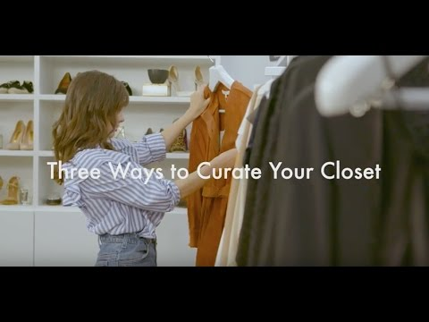 How to Organize Your Closet Like a Fashion Editor