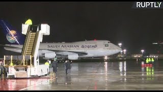 Video LIVE: Saudi king arrives in Moscow for historic state visit MP3, 3GP, MP4, WEBM, AVI, FLV Agustus 2018