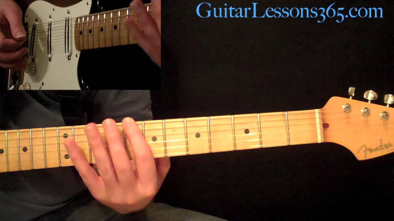 Walk This Way Guitar Lesson Pt.1 – Aerosmith – Rhythm Guitar Parts