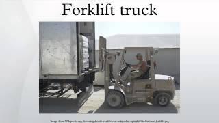 7. Forklift truck